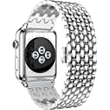 Apple Watch Band,URBST Stainless Steel Metal Watch Strap Replacement Bracelet for Apple iWatch Series 1, Series 2
