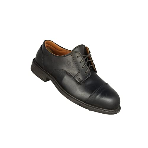 Jallatte - Calzado de protección de Piel para hombre, color Negro, talla 38