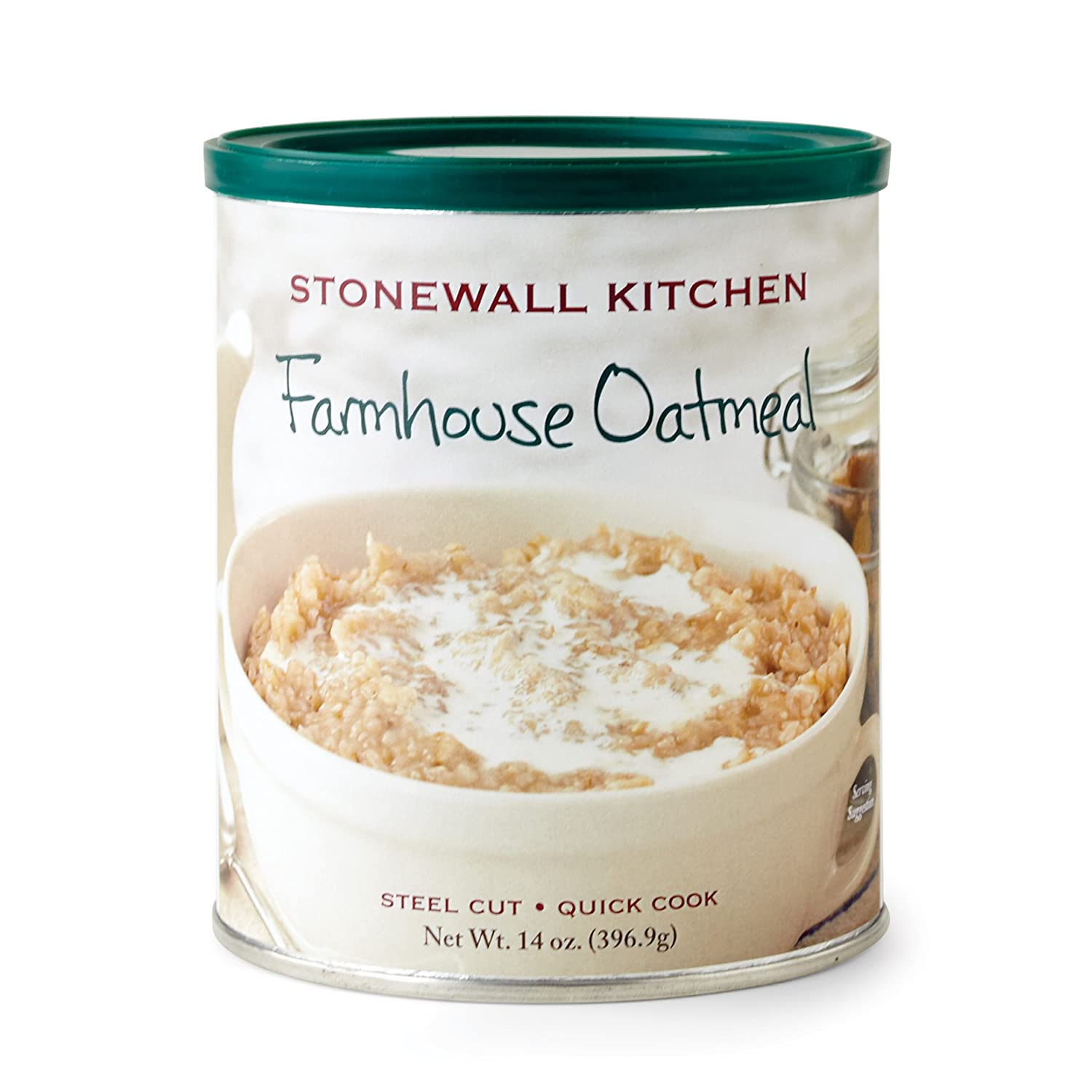 Amazoncom Stonewall Kitchen Farmhouse Oatmeal 14 Ounce
