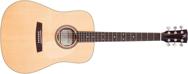 Kremona M10E Serie Cuerda de Acero Electroacústica Guitarra Sólido spruce, madera de caoba