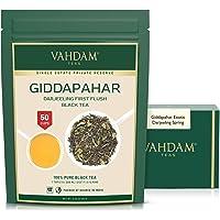 VAHDAM, Té Negro Darjeeling Giddapahar Exótico de Primera Cosecha 2020 (100g)