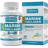 G-Biotics Collagène Naturel Marin + Acide Hyaluronique ~ Supplément EXTRA HAUTE QUALITÉ