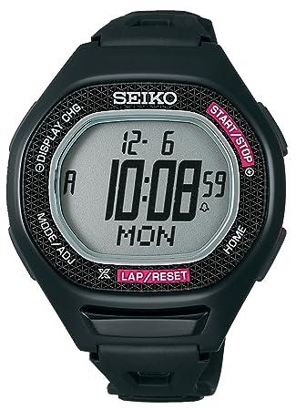 3581a4f67c Amazon | セイコー(SEIKO) スーパーランナーズ S611 ブラック×ピンク ...