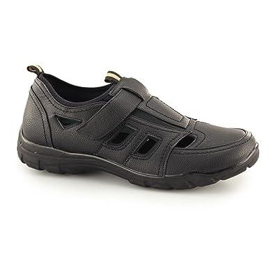 e6d4cb7bded6 Mens Casual Sandal Summer Lightwight Comfort Dr Keller Wide Fit Shoe (UK12