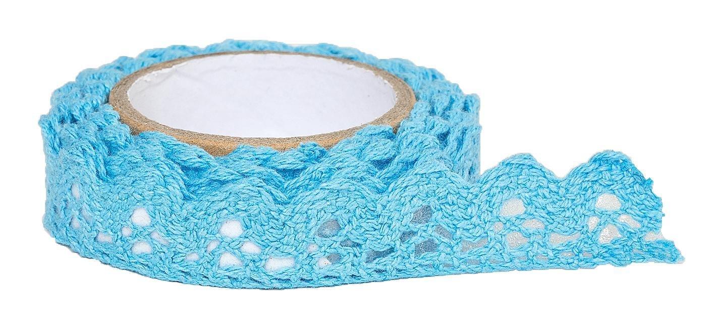 Spitzenband, selbstklebend Blau: Amazon.de: Spielzeug