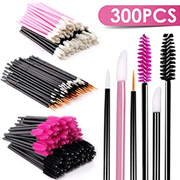 Amazon Com Disposable Mascara Wands Makeup Applicators Mascara