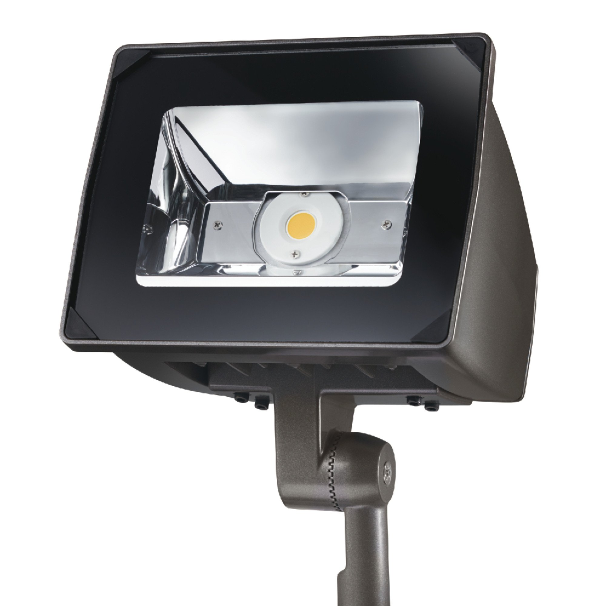 Lumark Nffld-S-C70-Knc-Unv Night Falcon 20W Carbon Outdoor Integrated LED Area Light with Knuckle Mounting, Bronze