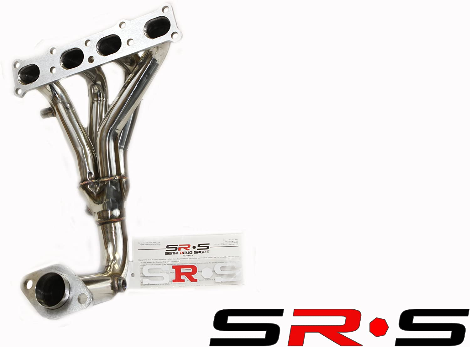 SRS T-304 Stainless Steel Header For Mazda Protege 5 2.0L