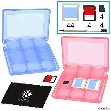 Amazon.es: CAMKIX 2X Caja de Juego, Compatible con Nintendo 3DS ...