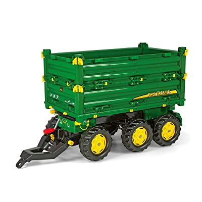 ROLLY TOYS John Deere Multi Trailer: Toys & Games