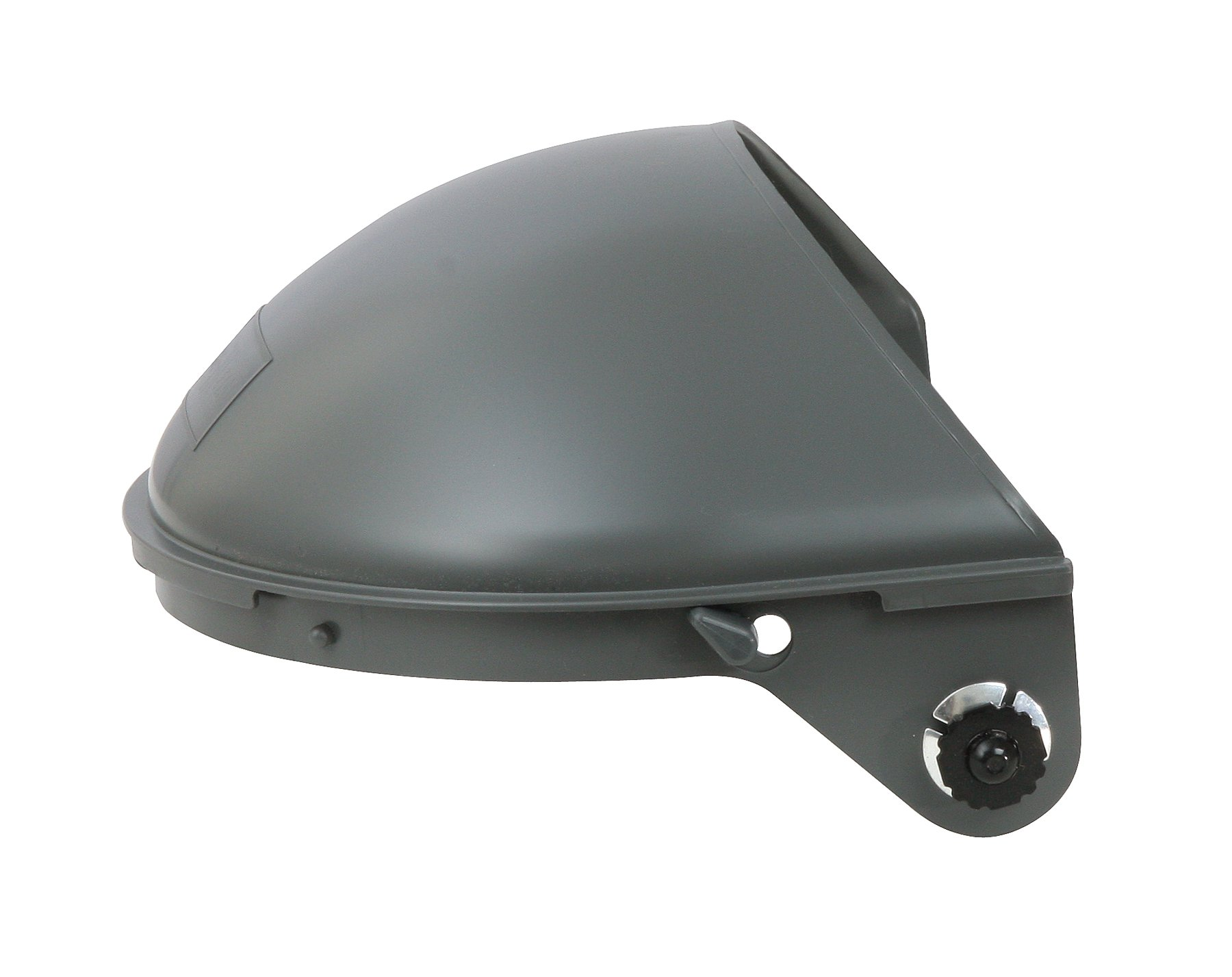 Fibre-Metal by Honeywell F4500 Model 4001 with Quick-Lok Mounting Cups High Performance Face shield System for 7'' Crown Size Hard Hats
