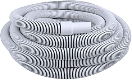 Poolmaster 33550 Commercial Pool Vacuum Hose W//Swivel Cuff 50-Foot 1 1//2 x 50 White