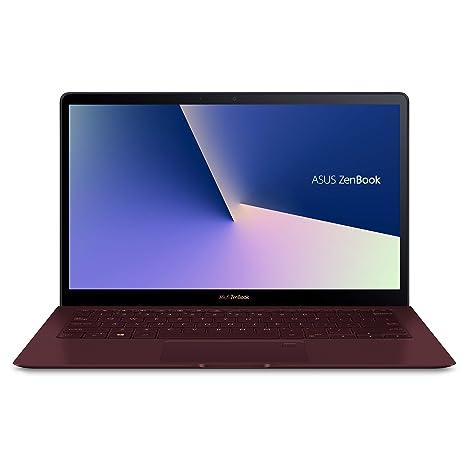 Asus ZenBook S Ultra-Thin and Light 13.3-inch Full HD Laptop with Intel Core i7-8550U, 8GB RAM, 256GB, Windows 10 Pro (Burgundy) Computers & Accessori at amazon