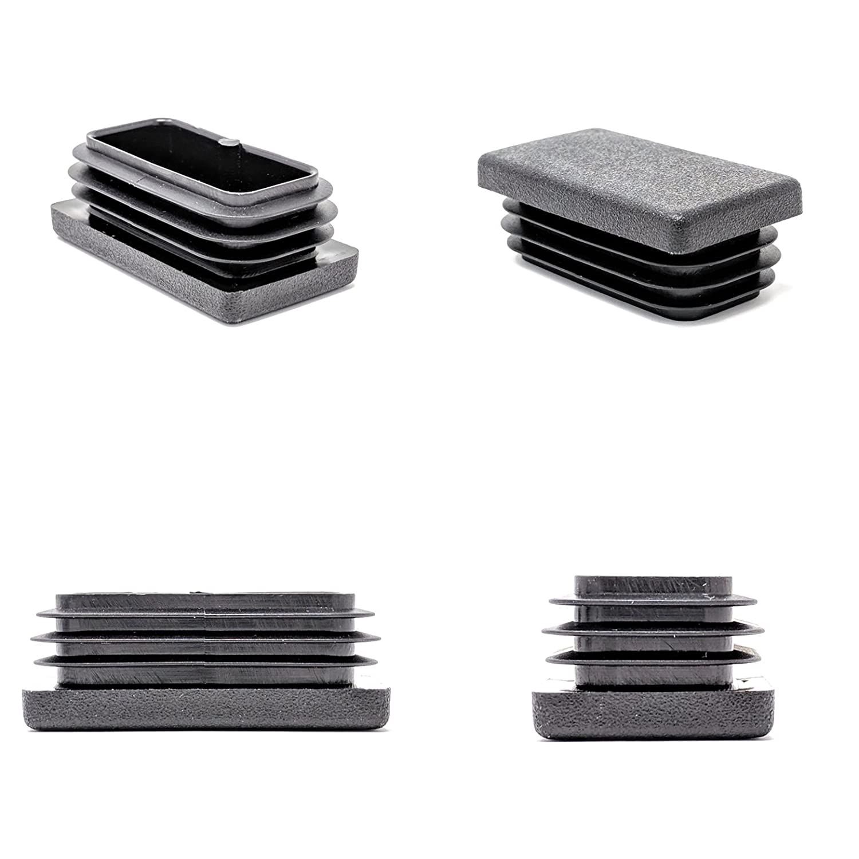 armarios para puertas de metal etc aluminio sillas Tapas rectangulares de pl/ástico para colocar en los pies de muebles