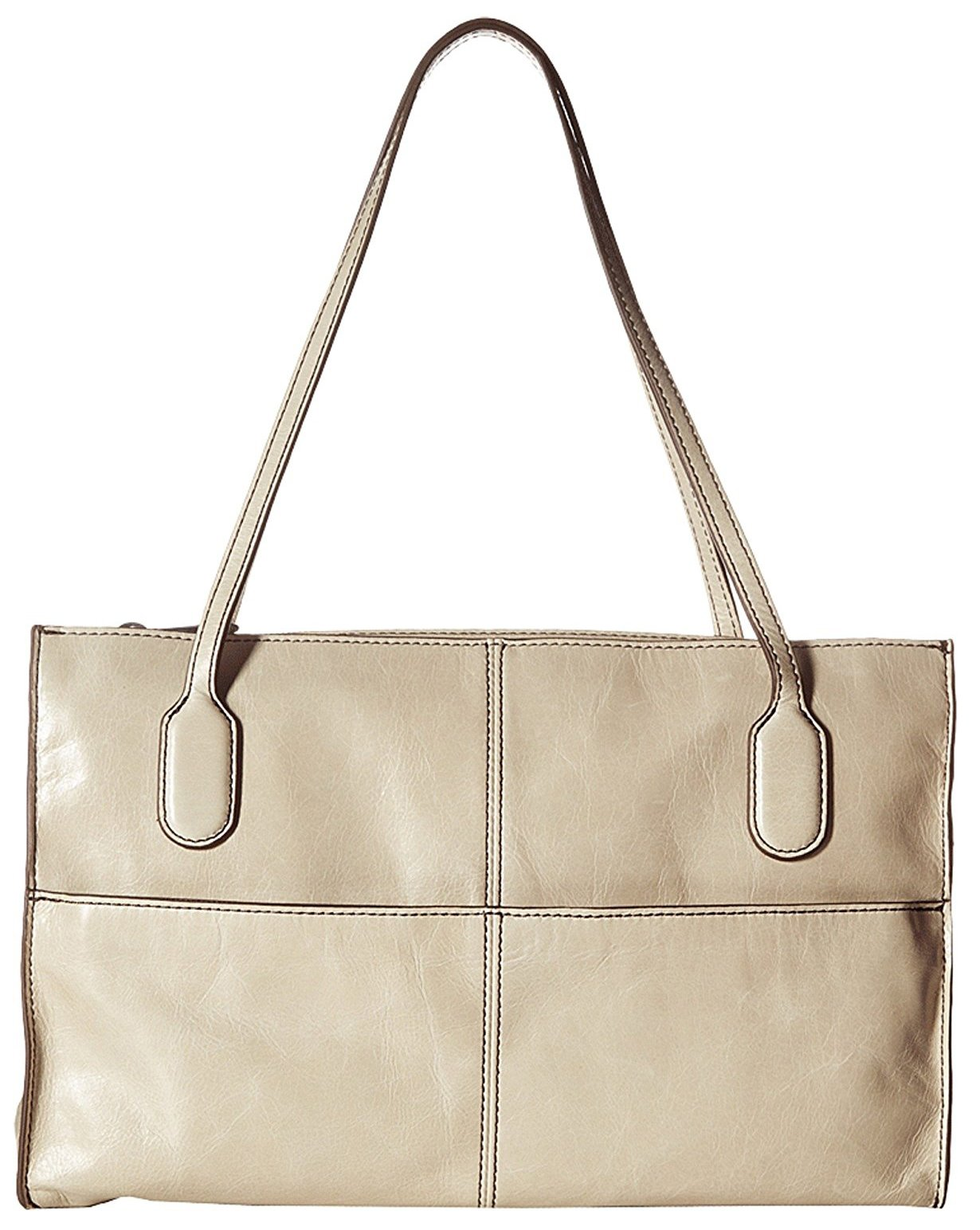 Hobo Women's Genuine Leather Vintage Friar Top Handle Shoulder Bag (Linen)