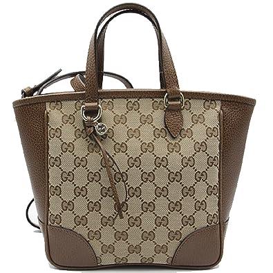 f82f6e3b66f1d Gucci Bree Kleine GG Canvas Tasche NOCCIOLA braun New Bag  Amazon.de ...