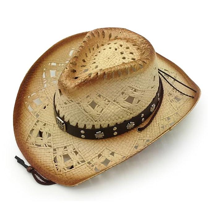 aee06fee0 AccessHeadwear Old Stone Arizona Women's Cowboy Drifter Style Hat at ...