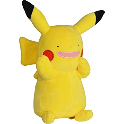 "PoKéMoN Ditto Pikachu Plush Stuffed Animal Toy - 8"": Toys & Games"