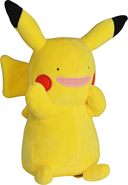 Amazon Com Pokemon Ditto Pikachu Plush Stuffed Animal Toy 8 Toys Games