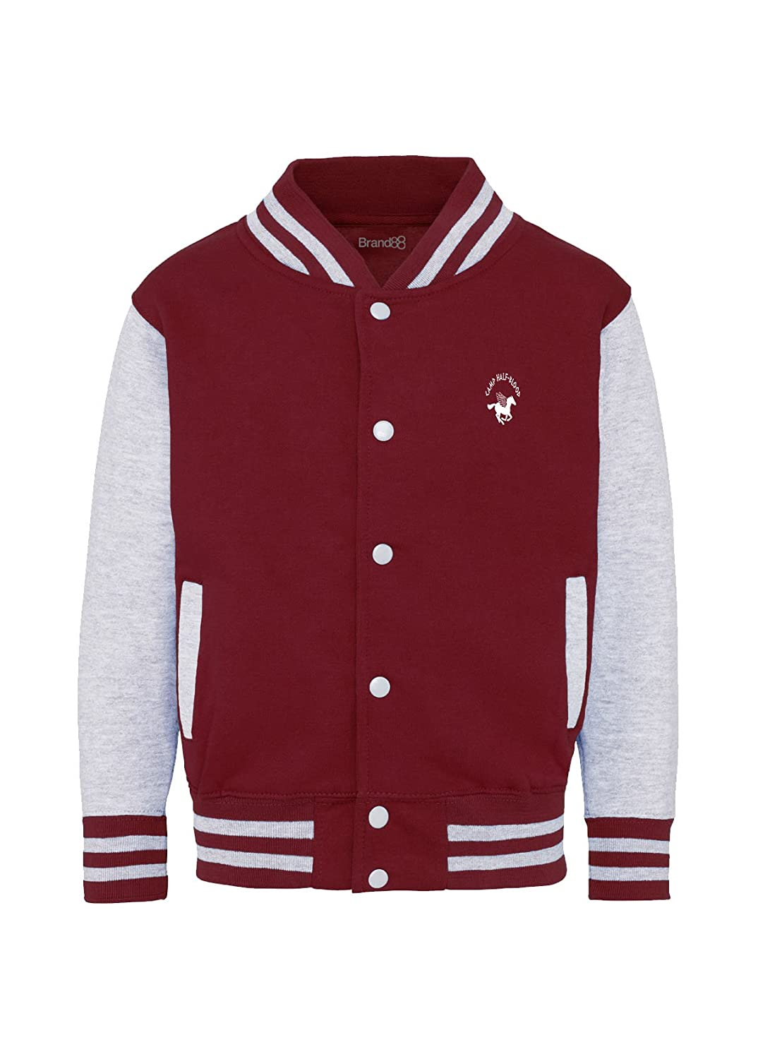 Brand88 Camp Half-Blood, Kids Varsity Jacket JH43J_NY071