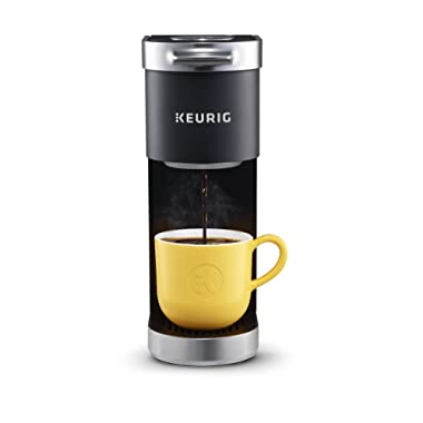 Keurig K-Mini Plus Single Serve K-Cup Pod Coffee Maker, with 6 to 12oz Brew Size, Stores up to 9 K-Cup Pods, Travel Mug Friendly, Matte Black