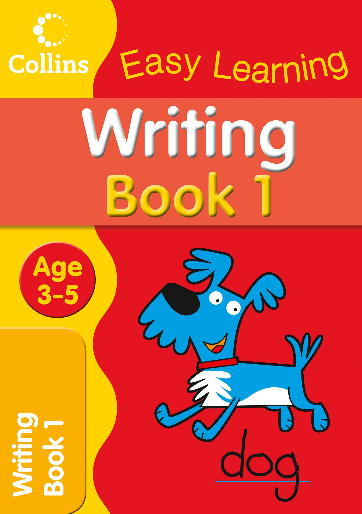 writing age 3 5 book 1 collins easy learning age 3 5 amazon co