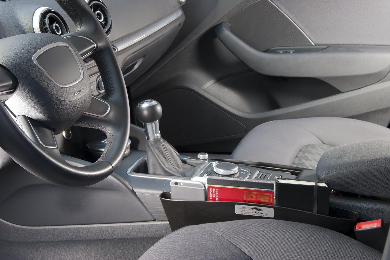 Xnhgfa Autositz L/ücke Organizer Vordersitz L/ücke F/üller Mittelkonsole Seite Spalt Aufbewahrungstasche Box f/ür Zus/ätzliche Lagerung,Beige
