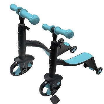 Nadle - Patinete 2 en 1 Ajustable para Montar en Bicicleta y ...