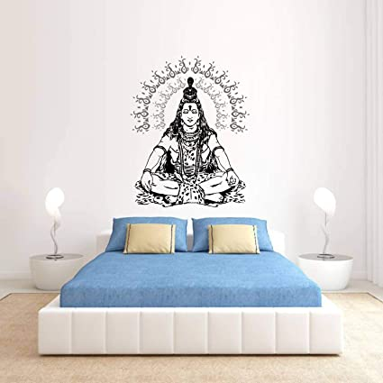 ORKA Lord Shiva Theme Wall Sticker: Amazon in: Home & Kitchen