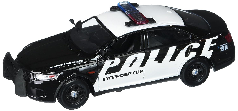 Motor Max 1 24 W B 2013 Ford Crown Victoria Interceptor Concept Promo Graphic Diecast Police Car