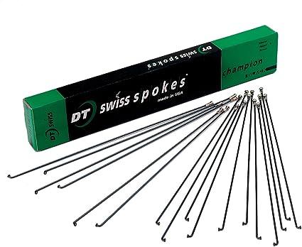 32pcs 264mm DT Swiss Champion 2.0 Swiss made silver spokes