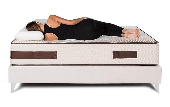 Bedland ▻ Colchón Viscoelástico ML500, Color Beige (135cm x 180cm). Colchón diseñado y Recomendado por fisioterapeutas. ¡Mejora YA la Calidad de tu sueño ...