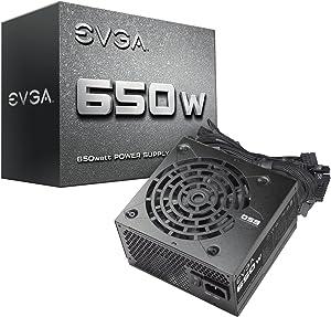 EVGA 650 N1, 650W, 2 Year Warranty, Power Supply 100-N1-0650-L1