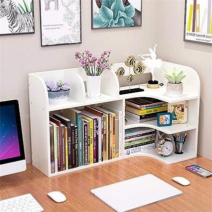 Organizador de Madera Visualización en escritorio del estante ...
