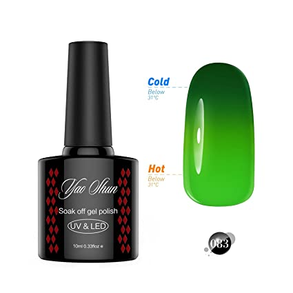 Cambia De Color Uv Gel Polaco Y S Fgpw083 2017 Nueva