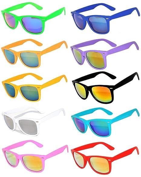 Amazon.com: Anteojos de sol retro, vintage con lentes ...