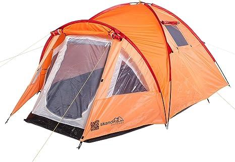 skandika Mora - Tienda de campaña iglú, Color Naranja, Talla 3000 mm: Amazon.es: Deportes y aire libre