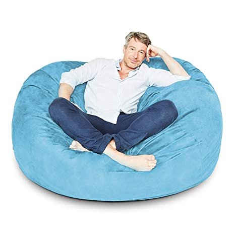 Amazing 4 Ft Bean Bag Chair Cover Only Large Washable Furniture Bean Bag Replacement Cover Without Bean Filling By Nest Bedding Dailytribune Chair Design For Home Dailytribuneorg