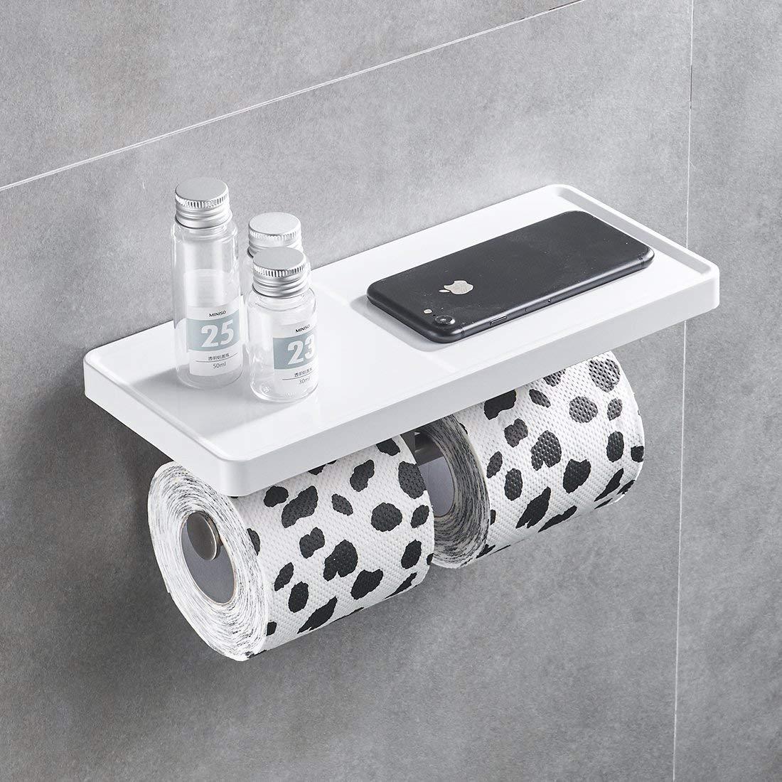 Aimadi Portarotolo carta igienica, da parete, bianco