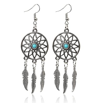 Buy Crunchy Fashion Harry Potter Jewellery Inspired Dream Catcher Simple Dream Catcher Earrings Online