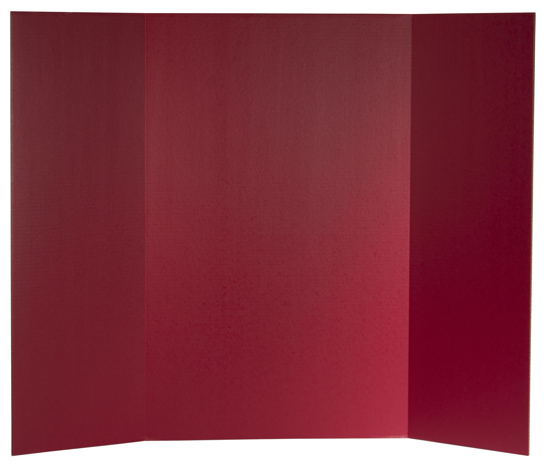 Flipside Products 30069 Project Display Board, Red (Pack of 24)