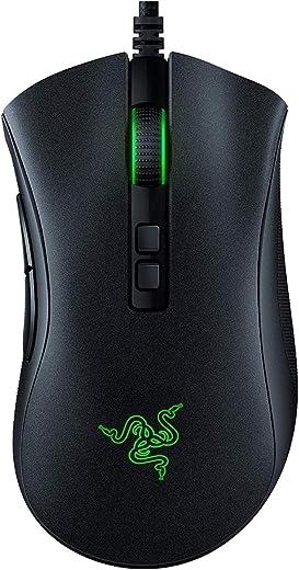 Razer DeathAdder v2 Ergonomic Wired Gaming Mouse Chroma RGB Lighting Programmable (Renewed)