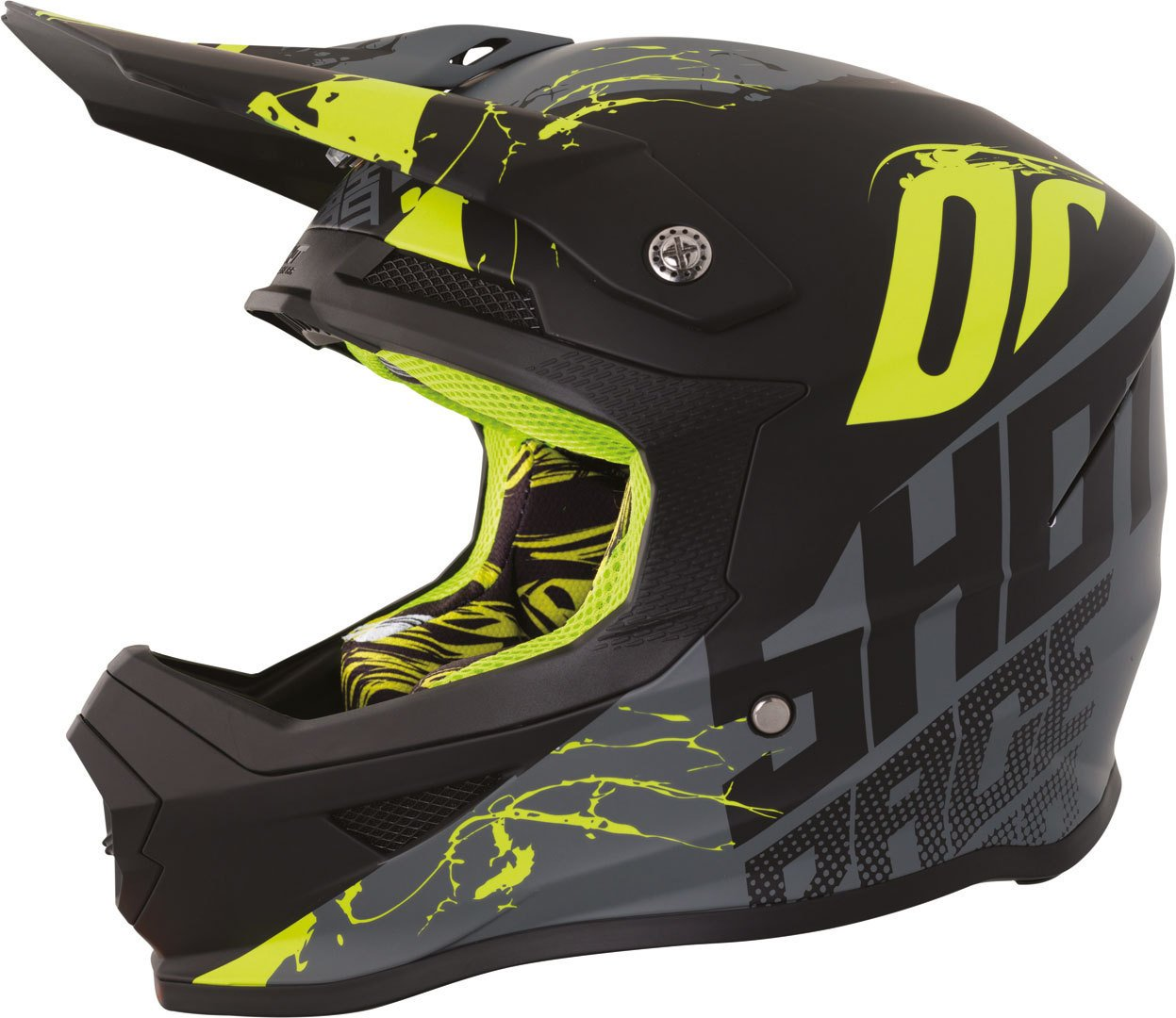 Amazon.es: Shot Furious Venom Mate Gris/Neon Amarillo S
