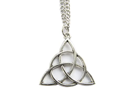 Amazon celtic knot triquetra necklace celtic trinity celtic celtic knot triquetra necklaceceltic trinityceltic necklace trinity knot necklacetrinity mozeypictures