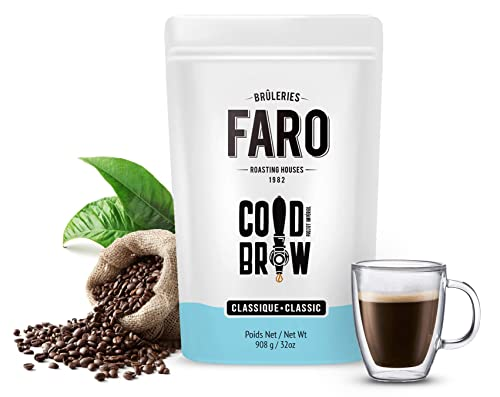 Faro Roasting House Imperial Project Blend, Cold Brew Whole Beans Coffee Blend, (2 Pounds)