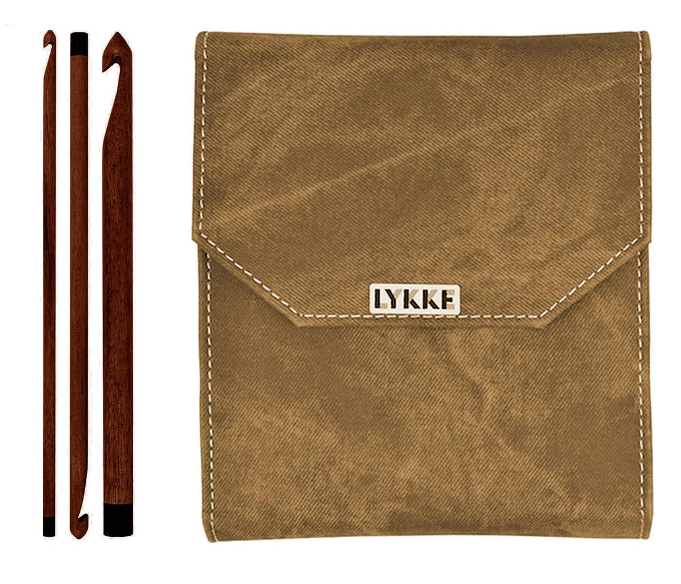 Lykke Driftwood 6 inch Crochet Hook Set (Umber Case) by Lykke (Image #1)