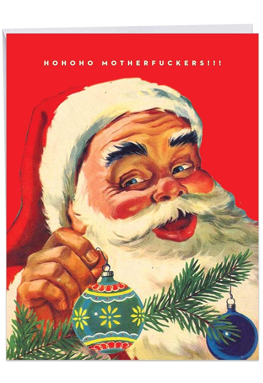 Tarjeta de felicitación de Navidad gigante: HoHoHo Madres ...
