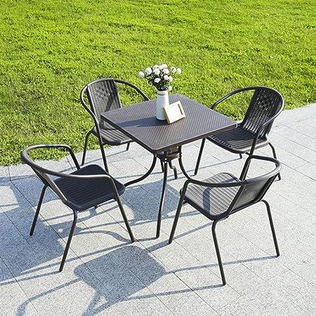 L Life Meubles Tables Consoles Table D Appoint 5 Morceaux 4
