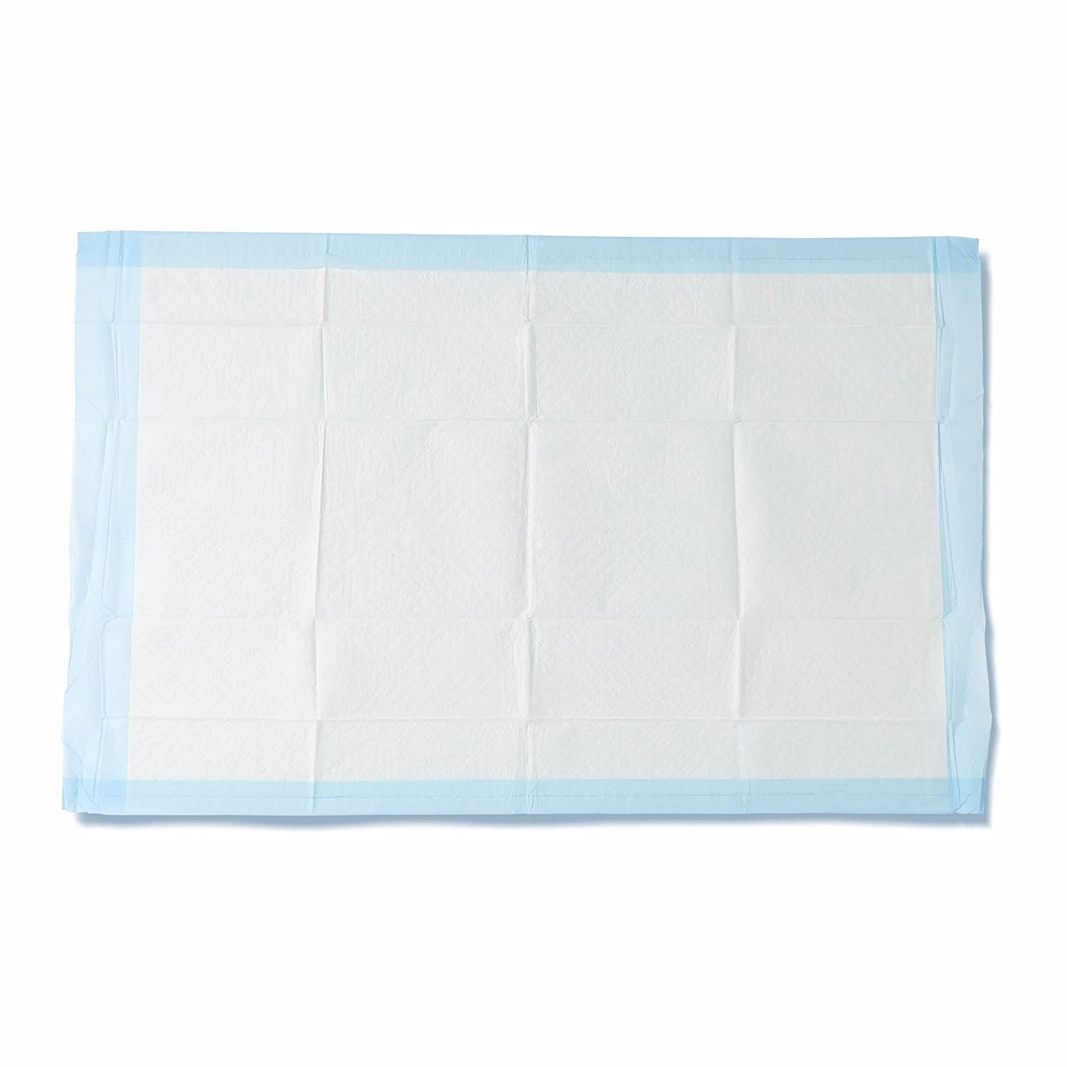 """Medline Quilted Basic Disposable Blue Underpad, 23"""" x 36"""" for incontinence, Furniture Protection or Pet Pads (Pack of 150)"""