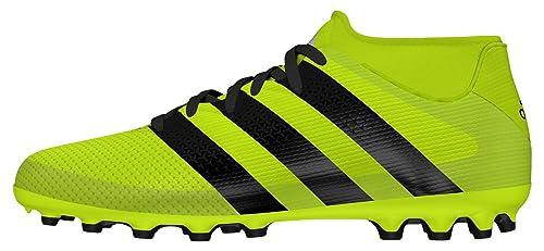 d36df41932cd adidas Boys'' Ace 16.3 Primemesh AG J Football Boots Yellow (Amasol/Negbas